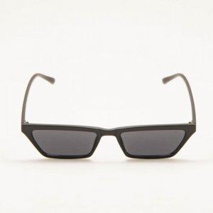 Óculos De Sol Quadrado Classic Preto Tamanho: U - Cor: Preto