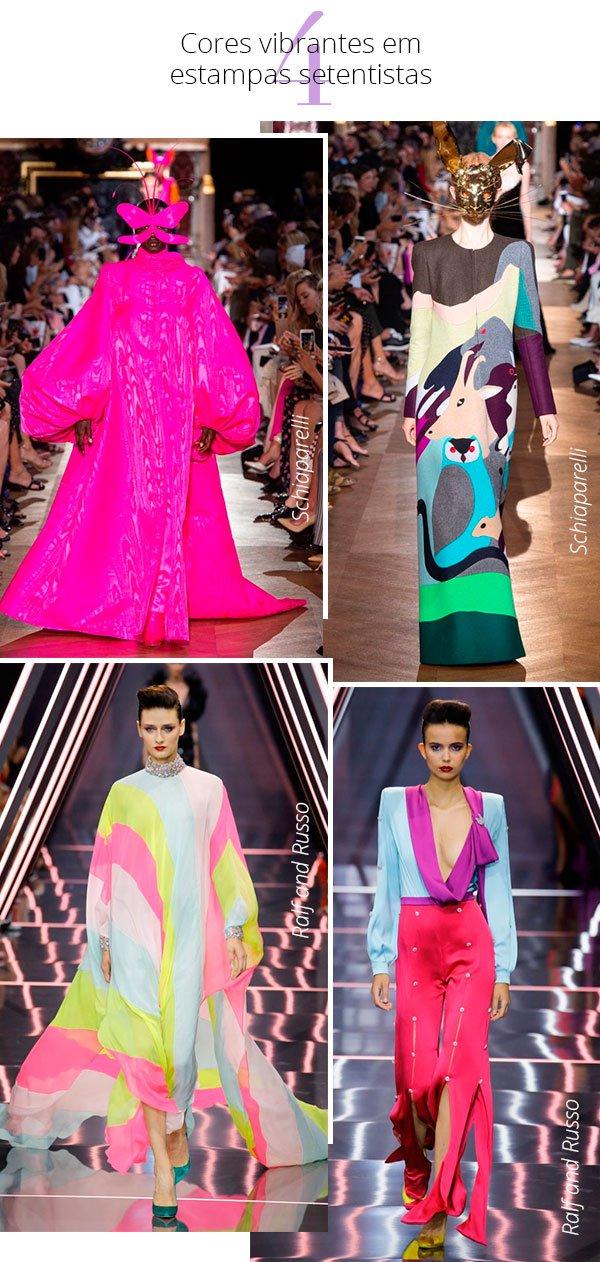 cores - desfiles - haute couture - 2018 - looks