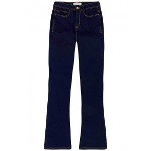 Calça Jeans Flare Na Base Boot Cut Petit