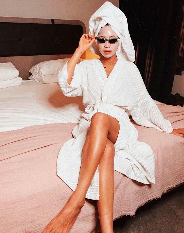 Aimee Song - aimee-song-beleza-skincare-pele - máscara facial  - verão - quarto skincare