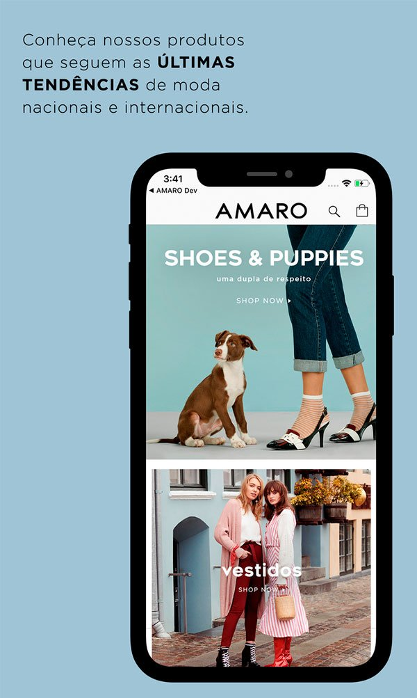 amaro - app - looks - comprar - online
