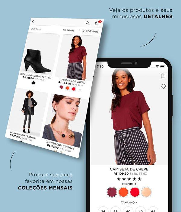 app - amaro - looks - comprar - online