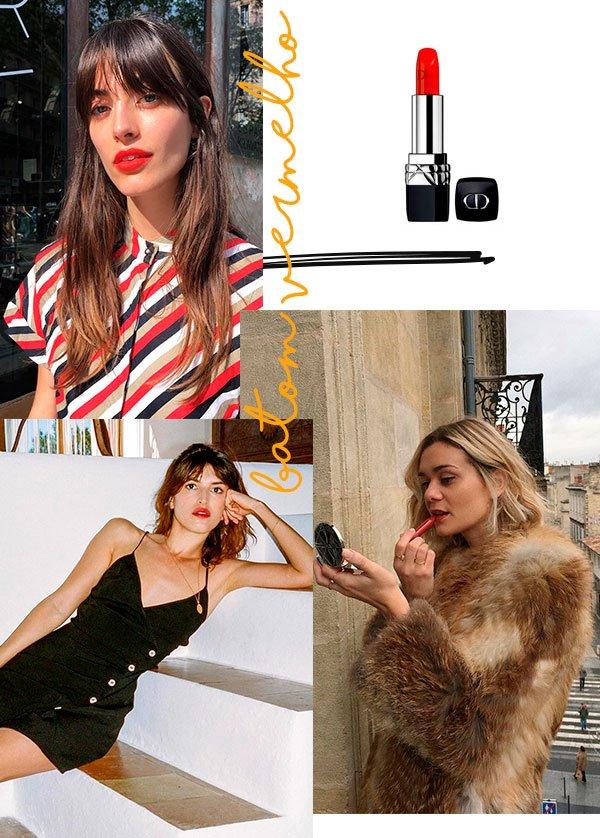batom vermelho - looks - french girl - make up - copiar