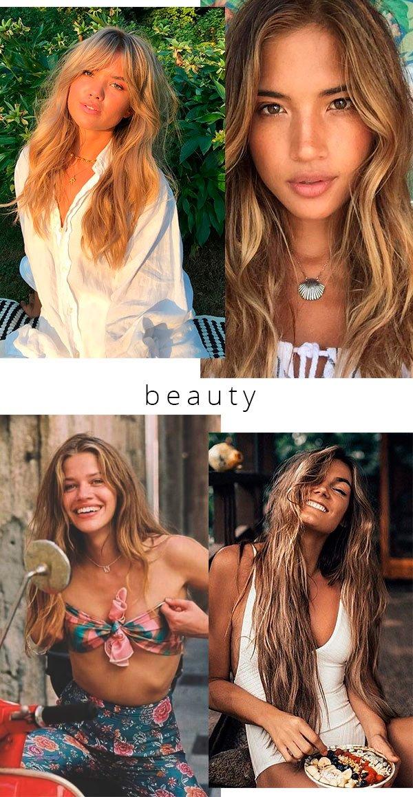 beleza - looks - boho - copiar - trend