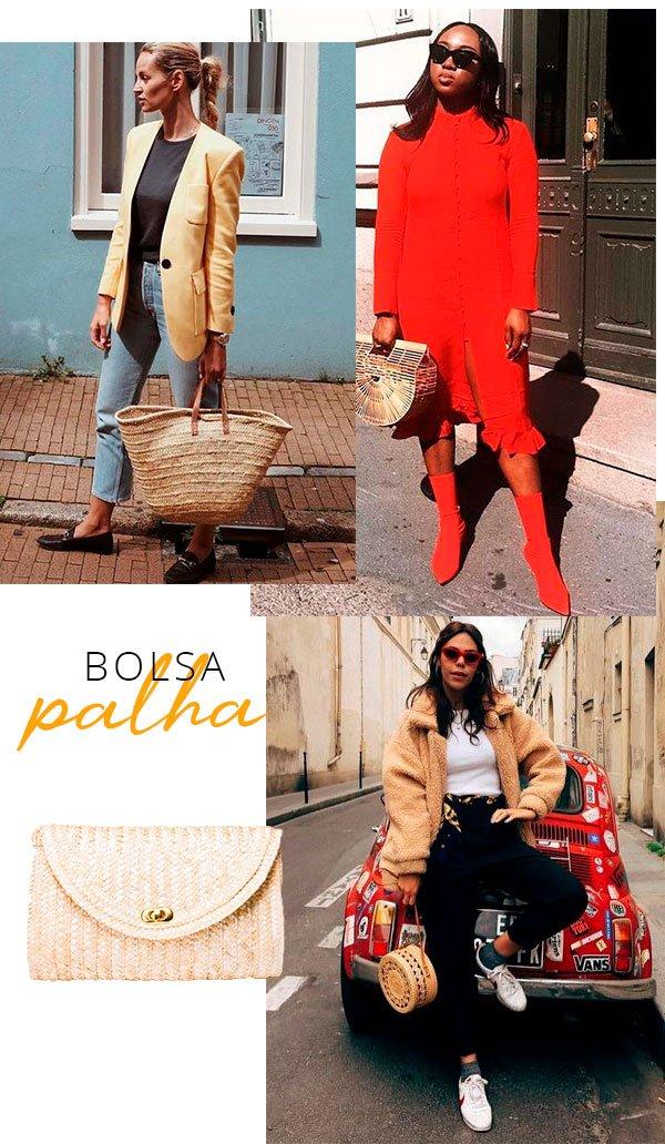 bolsa - palha - looks - chic - barato