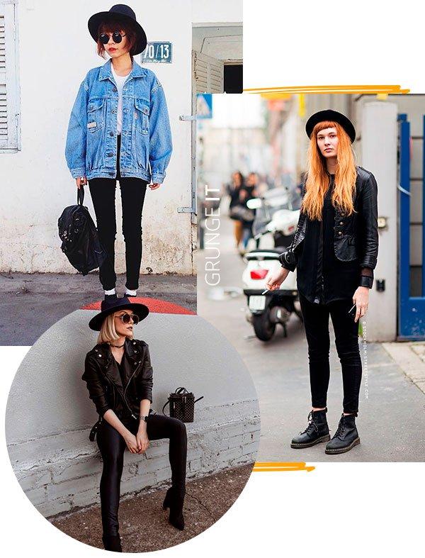 chapeu - grunge - looks - moda - copiar
