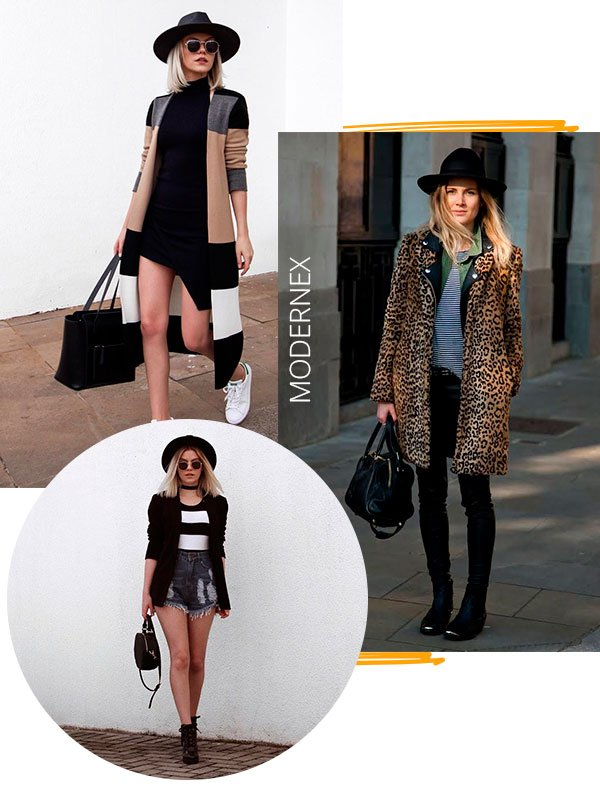 chapeu - looks - moderno - copiar - moda