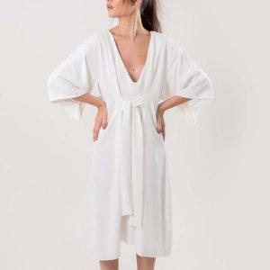Vestido Loy Tamanho: 44 - Cor: Branco