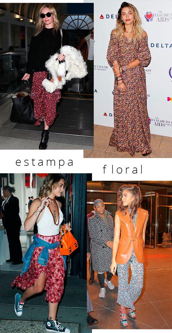 estampa - floral - looks - copiar - boho