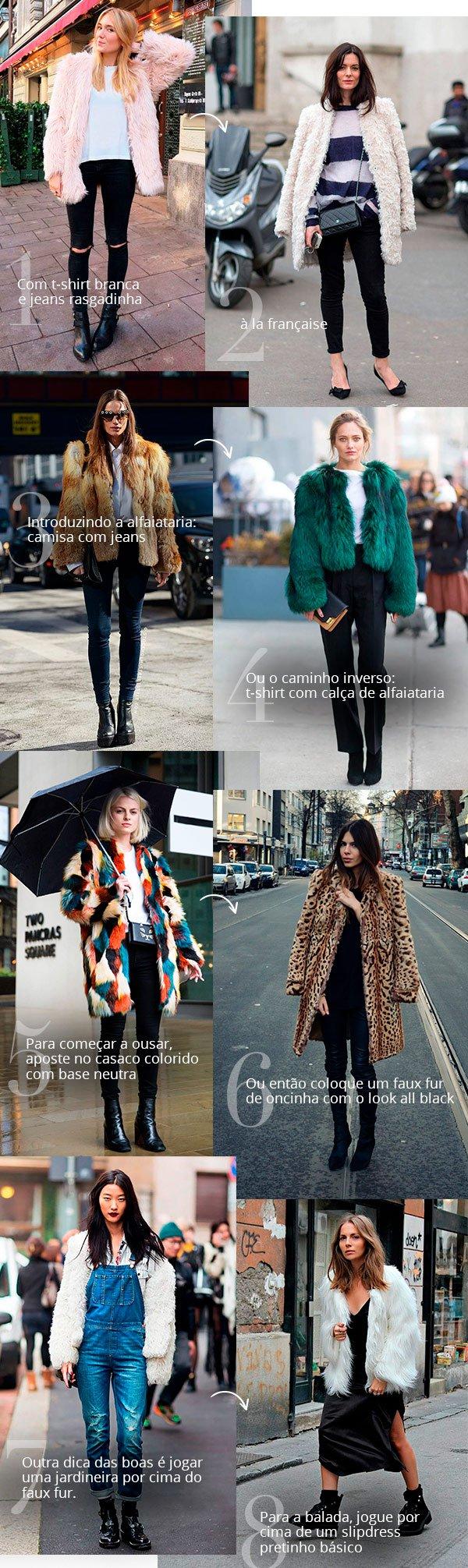 faux fur - looks - moda - trend - cpiar