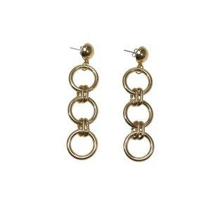 Brinco Gold Rings Tamanho: U - Cor: Dourado