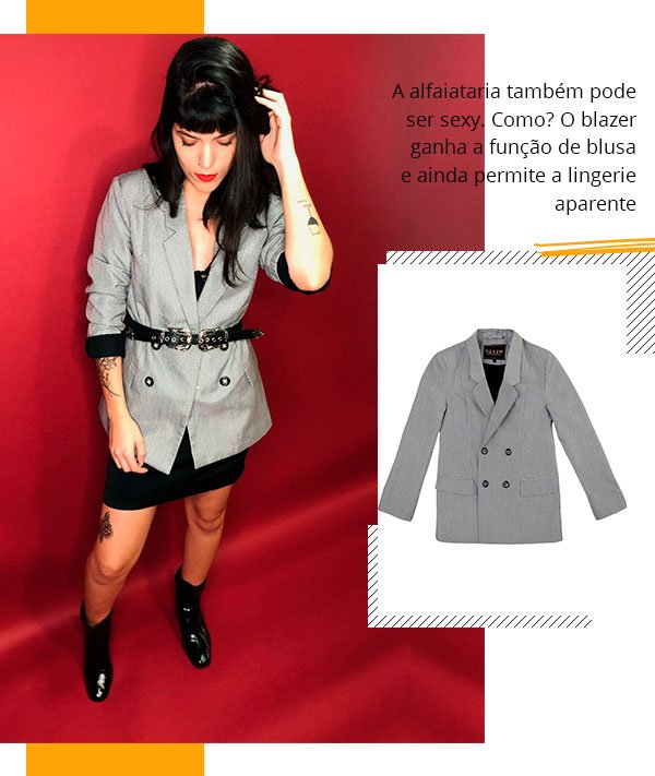 julia abud - dzarm - blazer - look - trend