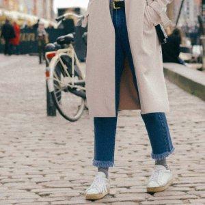 Calça Jeans Barra Blue Tamanho: M - Cor: Azul