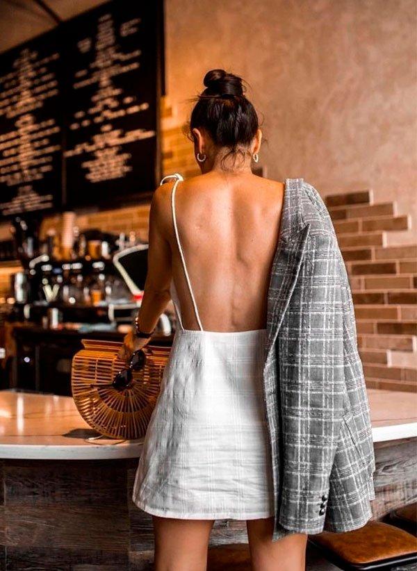 blazer - look - vestido - copiar - trend