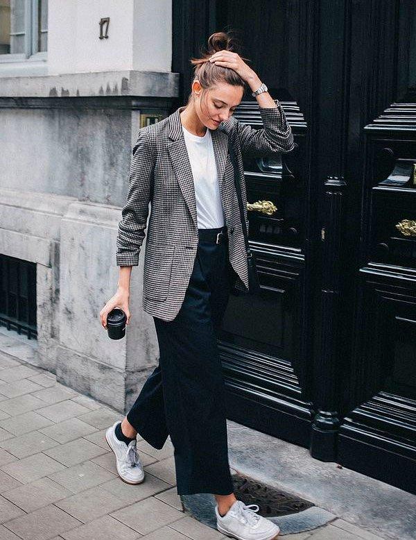 trend - moda - look - blazer - calca preta