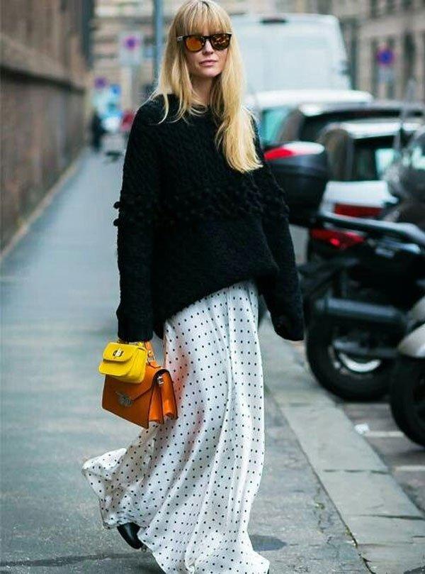 it-girl - maxi-vestido-tricot - maxi-vestido - inverno - street style