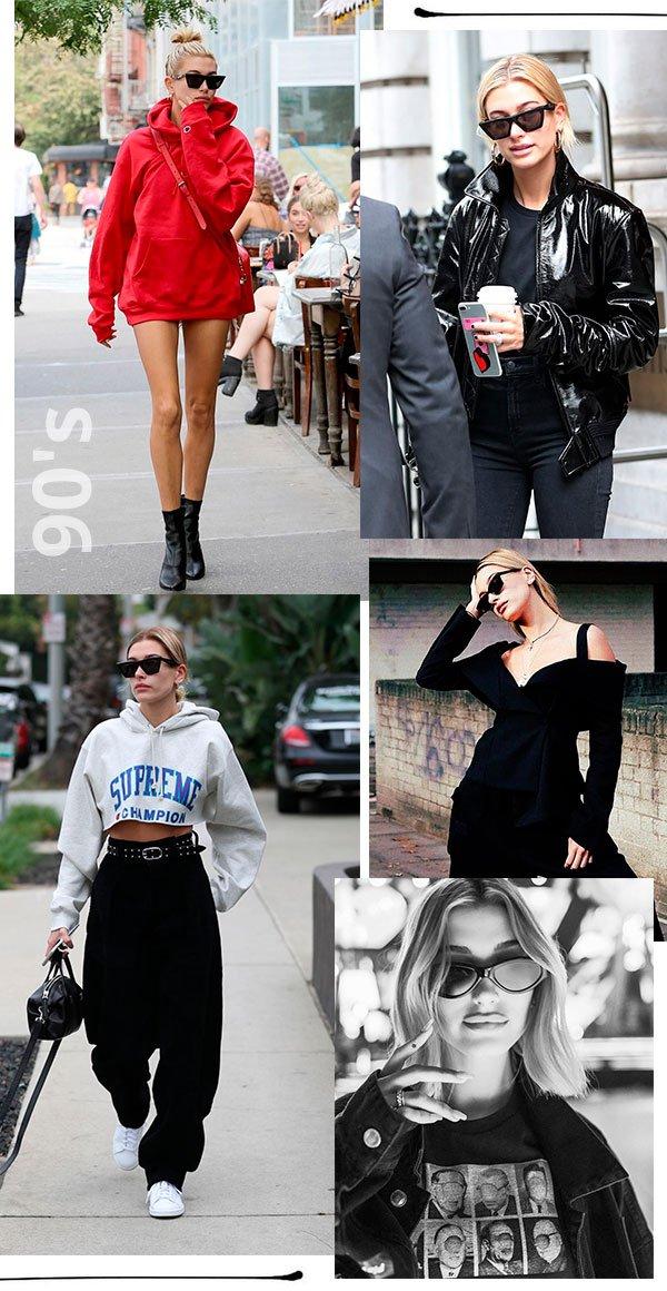 hailey baldwin - looks - moda - copiar - trend