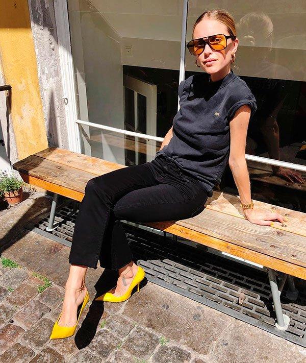 pernille - calca - preta - looks - moda