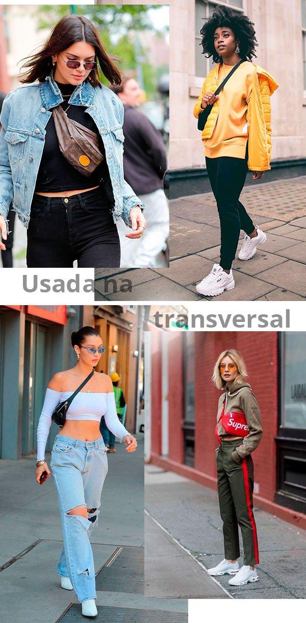 pochete - transversal - looks - celebs - como usar