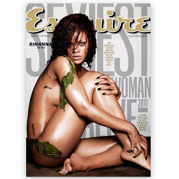 Capa Rihanna/ - rihanna-capa-ensure - Capa revista - todas - capa estúdio