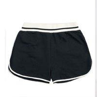 Shorts Feminino Básico Em Moletom De Algodão