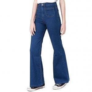 Calça Flare Jeans 70S Tamanho: 40 - Cor: Azul
