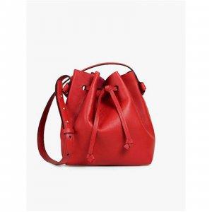 Bucket Lais Red - Mônica Salgado Tamanho: U - Cor: Vermelho