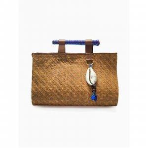 Handbag Blue Tropical Soleah Tamanho: U - Cor: Azul