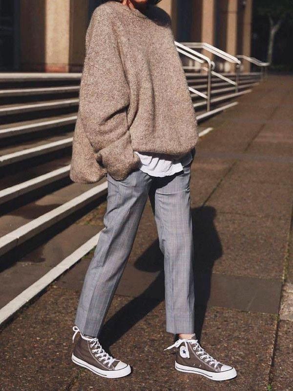 tricot-calca-alfaiataria-all-star - tricot-calca-alfaiataria-all-star - all star - inverno - street style