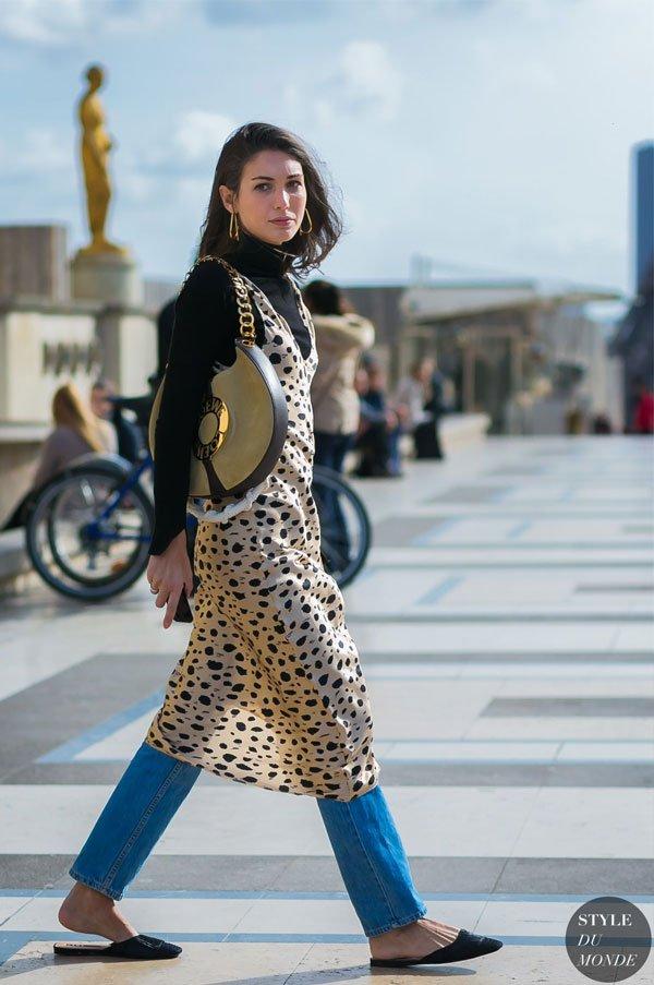 it-girl - turtleneck-vestido-calça - vestido - inverno - street style