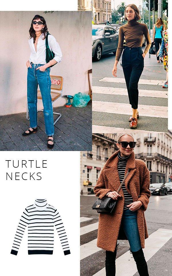 turtleneck - looks - moda - peca - barata