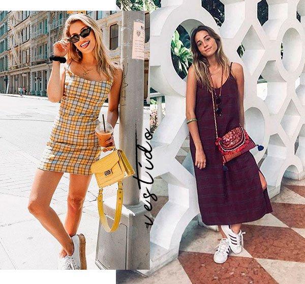 xadrez - looks - moda - comprar - vestido