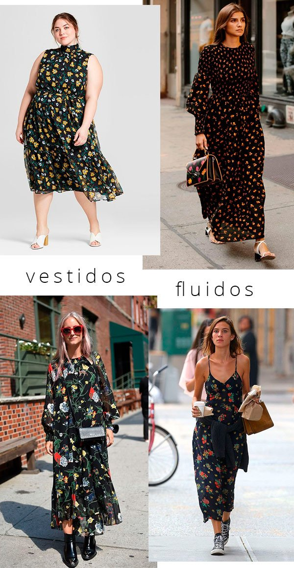 vestidos - fluidos - copiar - boho - looks