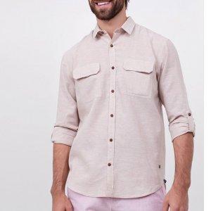 Camisa Lisa em Linho