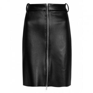 Saia Lápis Midi Leather
