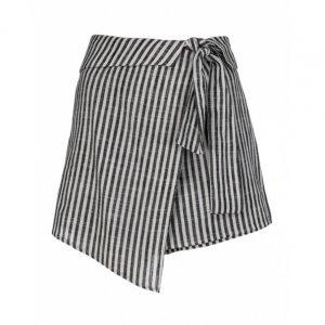 Shorts Saia Linhos Listras