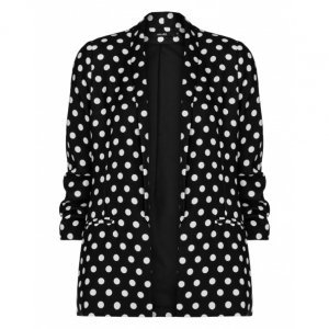 Blazer Fashion Crepe