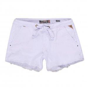 Shorts Feminino Moletom Cordão