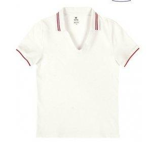 Camisa Polo Básica Feminina Em Malha Piquê De Algodão