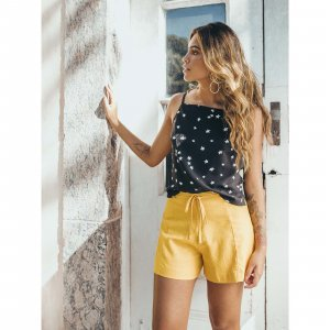 Short Dolce Vita Amarelo Tamanho: P - Cor: Amarelo