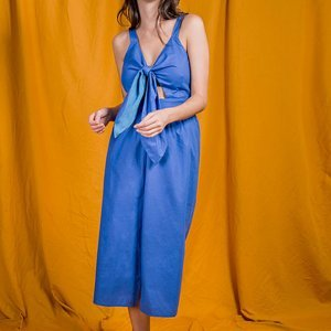 Vestido Emília Blue Tamanho: P - Cor: Azul