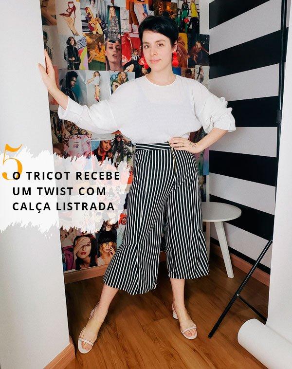 Gabriela Bonomi - calca-pantacourt-listras - calça listra - verão - office look