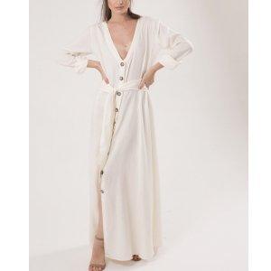 Vestido Taylor Tamanho: 40 - Cor: Off White