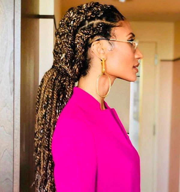 elaine welteroth - cabelo-fios-penteado-look - cabelo - verão - street style