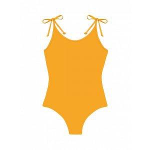 Maio Laço Mostarda Tamanho: P - Cor: Amarelo