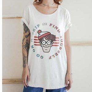 Camiseta Wally Tamanho: Pp - Cor: Branco