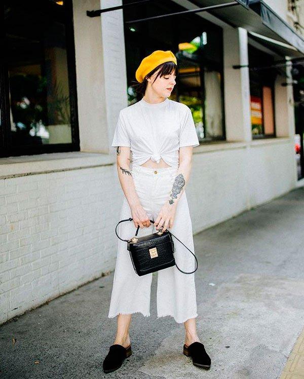 Marina Peixoto - t-shirt-branca-mule - t-shirt - verão - street style
