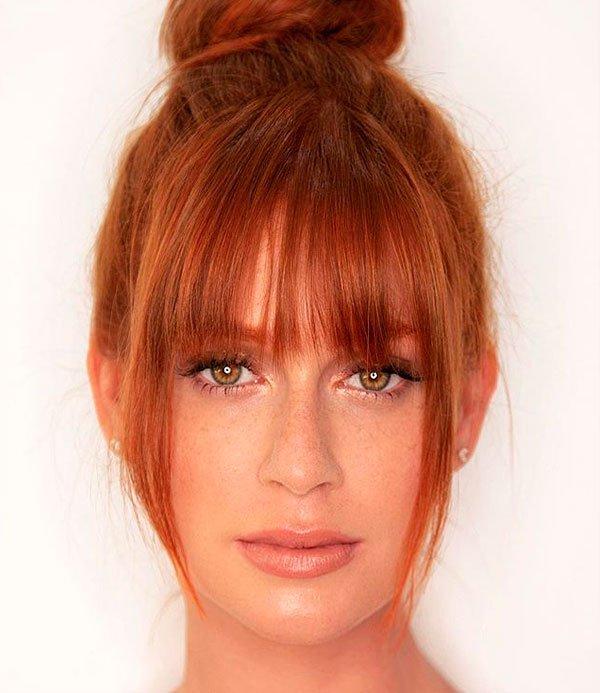 Marina Ruy Barbosa - franja-maquiagem-iluminada - maquiagem natural  - verão - estúdio