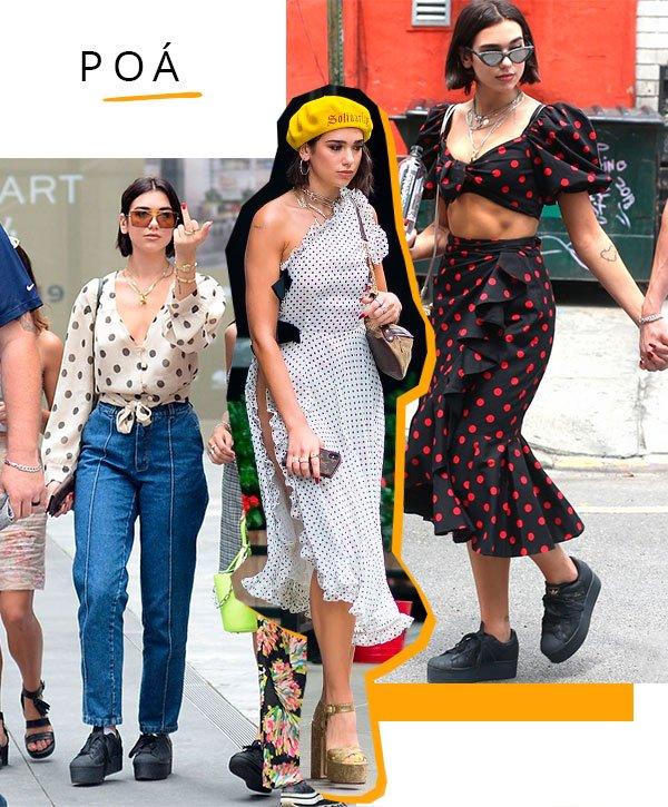 poa - looks - moda - dua lipa - trendy