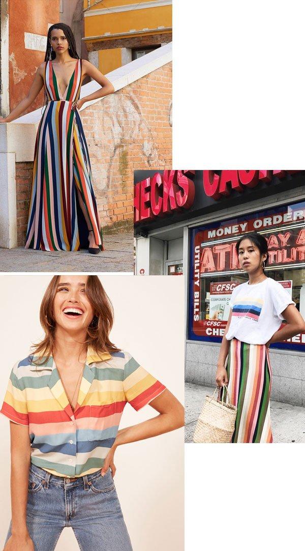 it-girl - rainbow stripes - rainbow stripes - verão - street style